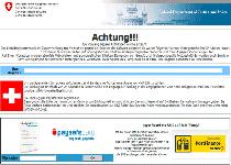 Fake Federal German Police Notice Screenshot 3