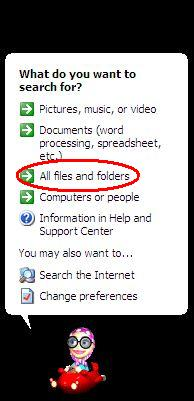 select all files and folders