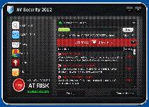 AV Security 2012 Screenshot 1