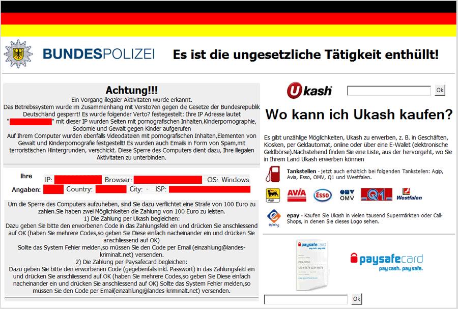 Ukash Deutschland