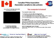 Canadian Police Association Ransomware Screenshot 1
