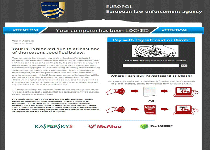 Europol Virus Ransomware Screenshot 1
