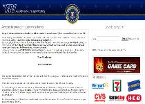 FBI Ultimate Game Card Virus Screenshot 1