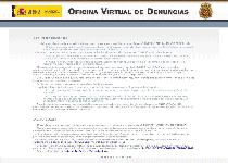 Oficina Virtual de Denuncias Ransomware Virus Screenshot 1