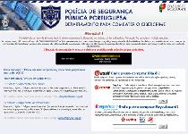 Polícia de Segurança Pública Portuguese Virus Screenshot 1