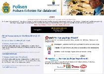 Polisen Enhetnen for Databrott Ransomware Screenshot 1