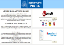 Strathclyde Police Ukash Virus Screenshot 1