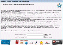 Windows Genuine Advantage Trojan Ransomware Screenshot 1