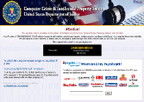 Computer Crime & Intellectual Property Section Ransomware Screenshot 1