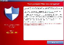 CryptoLocker Ransomware Screenshot 1