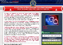 FBI Your Browser Has Been Blocked Ransomware Screenshot 1