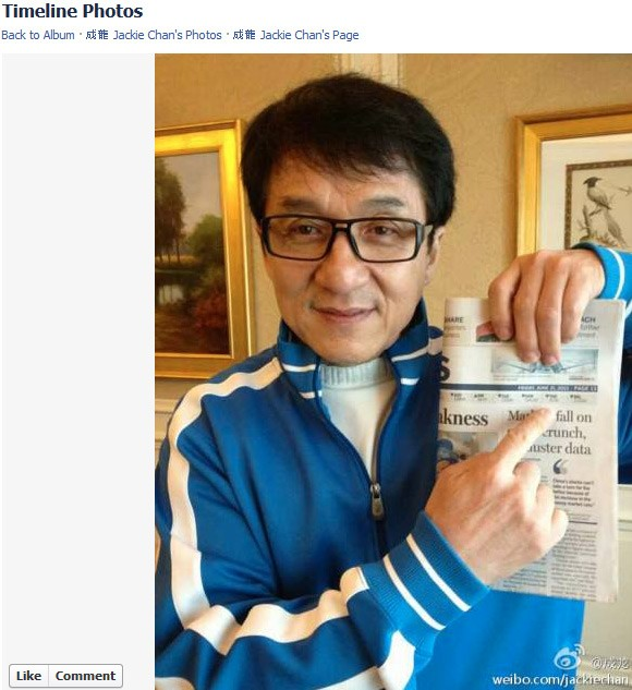 jackie chan death hoax proof