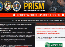 PRISM Your Computer Has Been Locked! Ransomware Screenshot 1