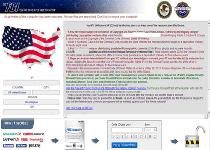 FBI System Failure Ransomware Screenshot 1