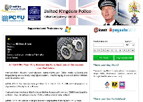 United Kingdom Police Ukash Virus Screenshot 1
