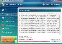 Win 7 Antivirus Plus 2013 Screenshot 1