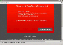 You need to update your version of media player Virus Screenshot 1