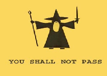 You Shall Not Pass Virus Screenshot 1