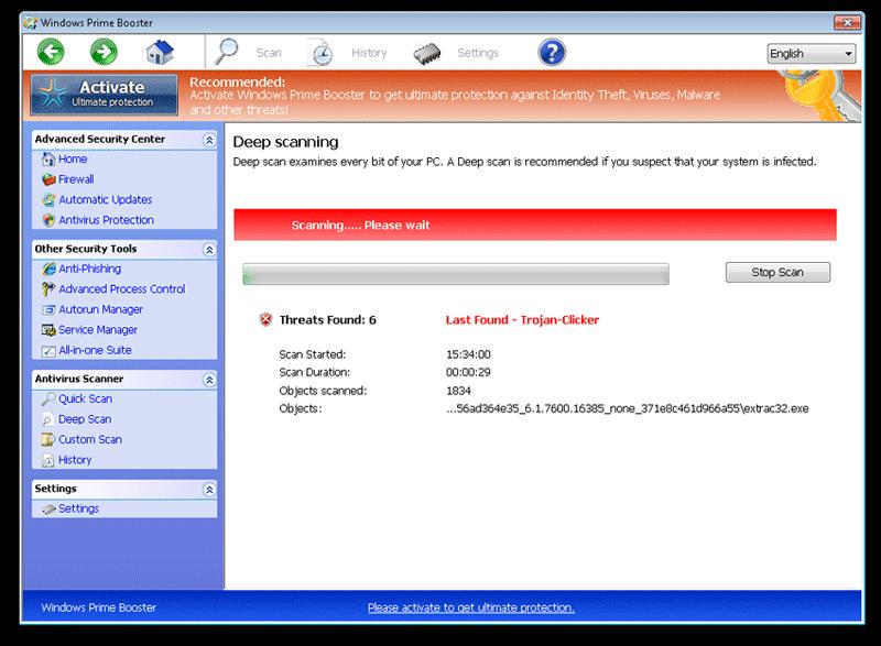 Remove windows prime booster removal guide